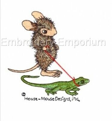 HOUSE MOUSE COLLECTION MACHINE EMBROIDERY DESIGNS ON CD OR USB
