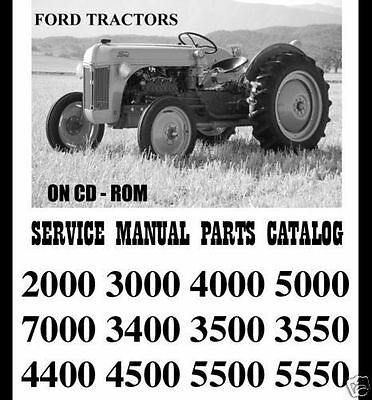 5000 ford tractor manuals