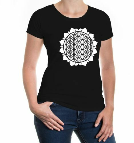 "Flexdruck OM Symbol T-Shirt /""Lady Fit Valueweight T/"""
