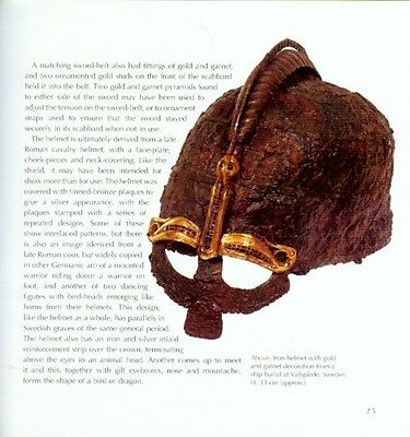 Sutton Hoo Treasures Anglo-Saxon Ship Burial Gold + Garnet Jewelry Sword Helmet 6