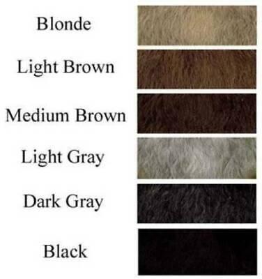 HUMAN HAIR BASIC CHARACTER MOUSTACHE 60S 70S COSTUME MUSTACHE TOUPEE TAPE HIPPIE