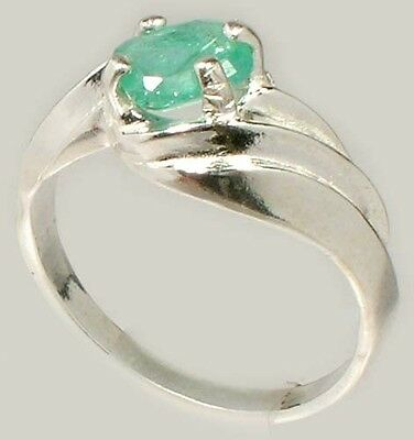 19thC Antique ¾ct Siberian Emerald Gem of Ancient Egyptian Sumerian Immortality 5