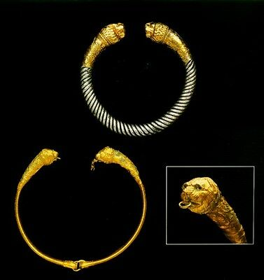 Ancient Gold Jewelry Etruscan Roman Greek Near Eastern 700BC – 300AD Color Pix 7