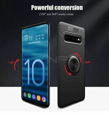 Samsung Galaxy S10 Plus S10E Luxury Magnetic 360 Ring Holder Phone Case Cover 6