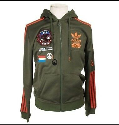 ADIDAS ORIGINALS STAR Wars X Wing Hoodie Military Jacket Men