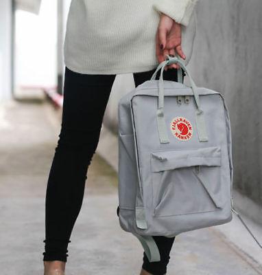 16 / 20L Unisex Fjallraven Kanken Shoulder Travel School bag Zaino causale IT 9