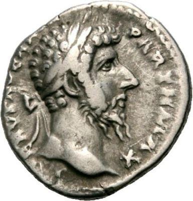 Roman Empire Lucius Verus Denarius Fortuna AD 168 NICE COIN 3