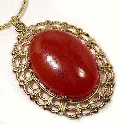 18thC Antique 22ct France Carnelian Ancient Rome Persia Greece Celt Favorite Gem 2