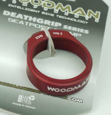 Collier tige de selle WOODMAN Deathgrip SL 31.8mm