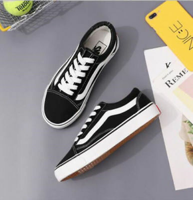MENS WOMENS VAN Classic OLD SKOOL Low Top Casual Canvas sneakers Shoes 6