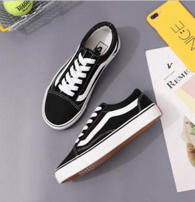 VAN Classic OLD SKOOL Low / High Top sneakers camoscio tela Casual scarpe uomo 8