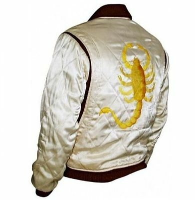 Men's Drive Scorpion Stylish Satin Fitted Ryan Designer Gosling Movie Jacket 2