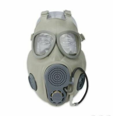 Military Czech Gas Mask M10M With Hydration Straw Filters Emergency Survival NBC 2