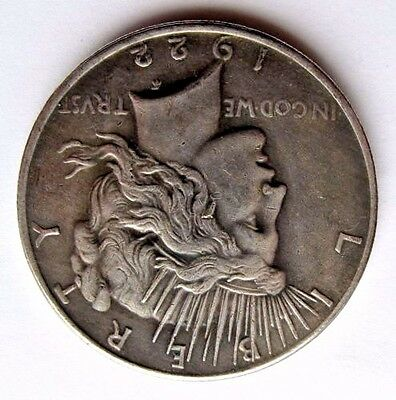 Two Sided 1922 Peace Silver Dollar Coin Double Headed Coin 2