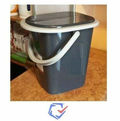 Toilettes Camping Toilette Sèche Portable Seau WC Portatif Voyage 22L BRANQ Neuf 10