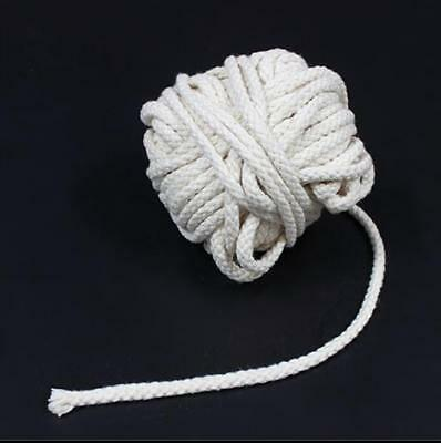 1M Long Cotton Wick Burner For Oil Kerosene Alcohol Lamp Torch Wine Bottle HU