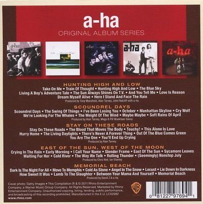 A-Ha Original Album Series 5Cd Album Set (2011) 2
