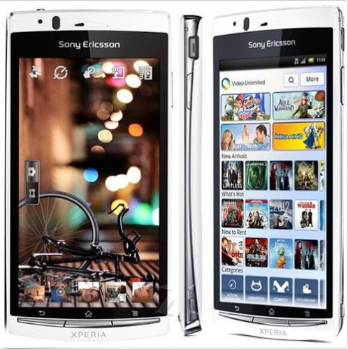 Sony Ericsson Xperia Arc S LT18i Unlocked Black Smartphone Android Mobile Phone 7