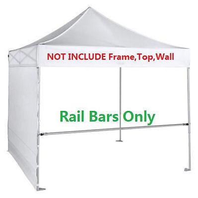 EURMAX EZ POP Up Canopy Instant Tent Protable Gazebo Rail Bars Set ...