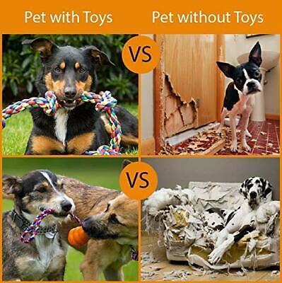 Dog Toys - 8 Large Dog Rope Toys for Medium and Large Dogs- BK 7