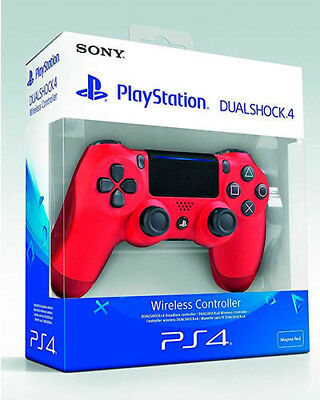 Mando Ps4 Dualshock Color Rojo Magma Original Playstation 4 Sony Red Magma 10