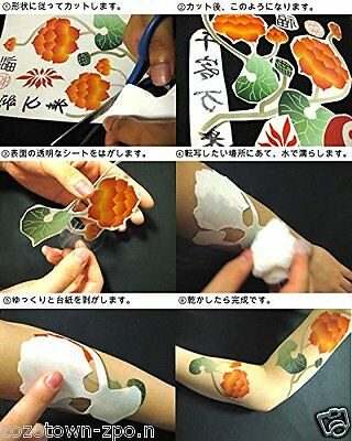 Cosplay for Tattoo Seal Sticker Tokyo Ghoul Uta hand-finger anime manga New JP