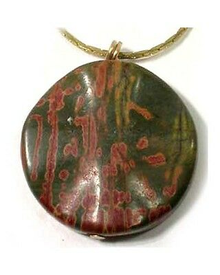 19thC Antique 31ct Jasper Medieval Snake Spider Poison Evil Spirits Rain Amulet 3