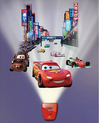 Wild Walls Disney Cars Wall Stickers 11 Decals With Light Sounds