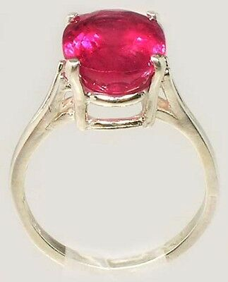 Red Sapphire Ring 5¼ct+ Antique 19thC Medieval Sorcery Psychic Anti-Black Magic 4
