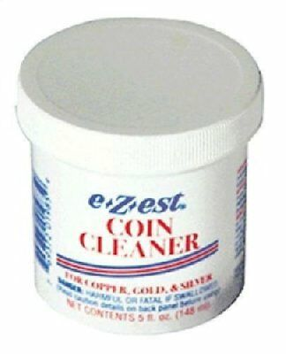 5oz e-Z-est Coin Cleaner for Gold Silver and Copper Coins 12 PACK