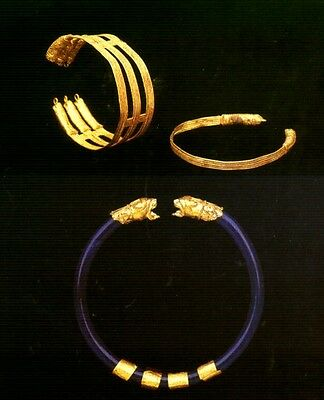 Ancient Gold Jewelry Etruscan Roman Greek Near Eastern 700BC – 300AD Color Pix 5