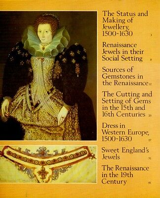 Renaissance Royal Jewelry England Settings Techniques Gem Sources Cutting Color 2