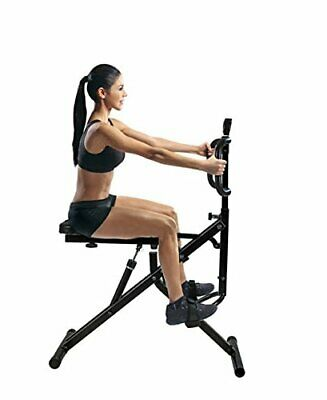 Power Rider Total Crunch AB Crunch Body Fitness Exercise Squat Cardio Workout 5
