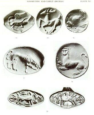 Greek Etruscan Finger Rings Engraved Gemstones Oxford Ashmolean Hellenistic Pix 8