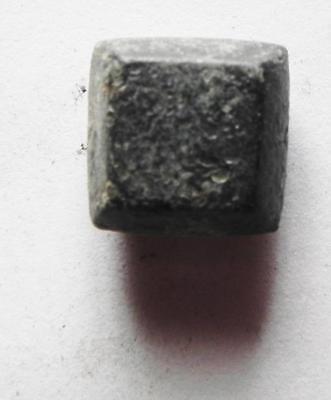 ZURQIEH -aa7257- BYZANTINE BRONZE WEIGHT OF 1 NUMISMATA. 4.47GM