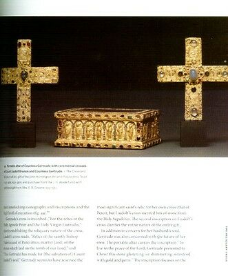 Medieval Reliquaries & Saint Relics 400-1204AD Treasuries Cross Pendants Color