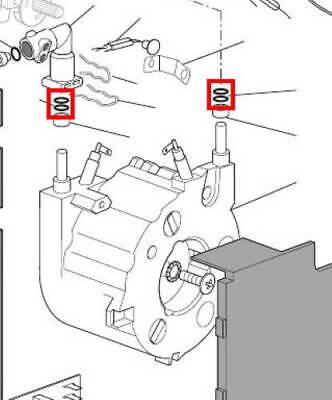 Delonghi Nespresso guarnizione doppia tubo caldaia Lattissima Magnifica Intensa 6