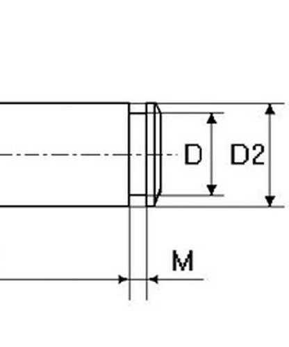 1 CIRCLIPS extérieur INOX pour axe Ø25