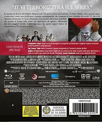 IT - 2018 (Blu-Ray Disc) (V.M. 14 anni) Horror con Bill Skarsgård 2