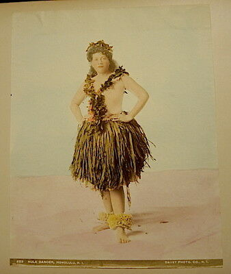 Hawaii Rarest 1898 Frank Davey Personal Photo Album ,1898 ,42 Hand Tinted Photos 8
