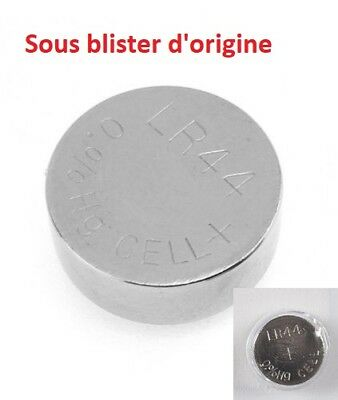 Piles boutons Alcaline LR44 AG13 A76 G13A D303 L1154 SR44 PX675 -1,5V marque HQ 2