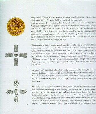"""500AD Medieval Byzantine Lombard Italy """"Barbarian"""" Gold Sheet Jewelry Ornaments 5"""
