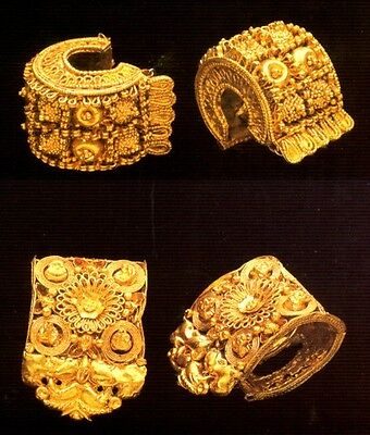 Ancient Gold Jewelry Etruscan Roman Greek Near Eastern 700BC – 300AD Color Pix 4