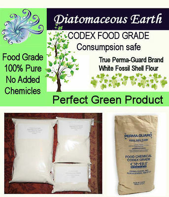 2 lb Perma-Guard Food Grade Diatomaceous Earth 100% Pure DE No additives 2