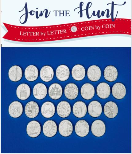 2018 2019 Alphabet A-Z 10p Pence Piece Coins collection - Choose Unc Letters set 2