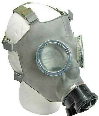 Polish MC-1 Military Gas Mask 40 mm New/Old stock Nuclear Biological Protection 3