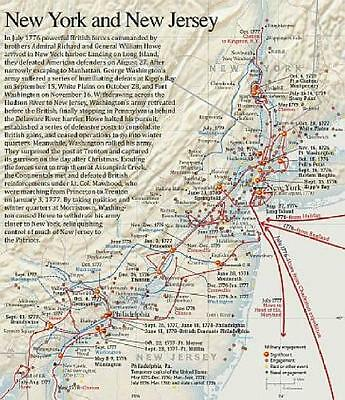 Revolutionary War Map Of New York.Revolutionary War Map National Geographic American Revolution