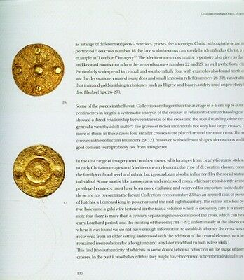 "500AD Medieval Byzantine Lombard Italy ""Barbarian"" Gold Sheet Jewelry Ornaments 6"