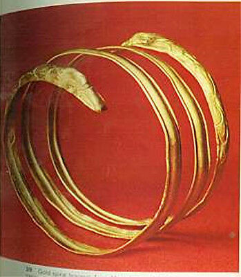 Greek Roman Hellenic Etruscan Gold Jewelry 68 Color Pix Trade Production Wearing 5 • CAD $42.83
