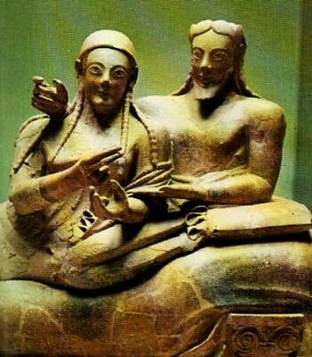Unesco Ancient Etruscan Sculptures Color Pix 800BC Campania Latium Po Valley 4 • CAD $30.47